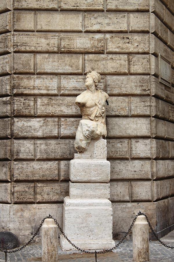 Pasquino Statue