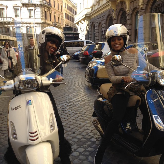 Rent a Vespa in Rome