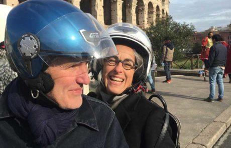Rent a Vespa in Rome