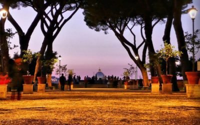 Orange Garden at Parco Savello Rome