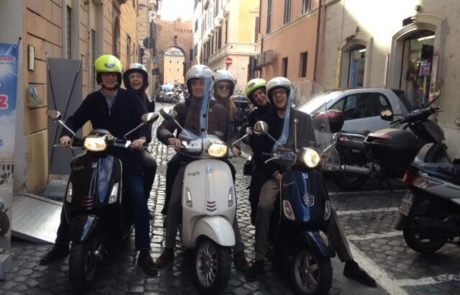 Rome Vespa Rental