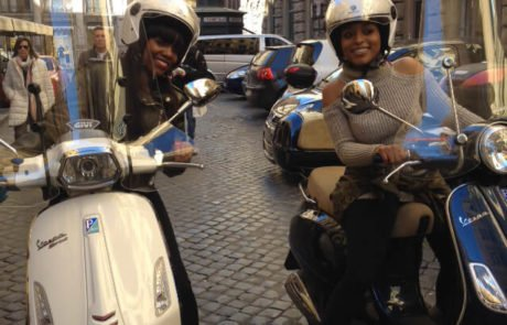 moped rental rome
