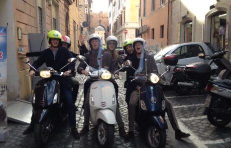 Vespa Tour in Rome