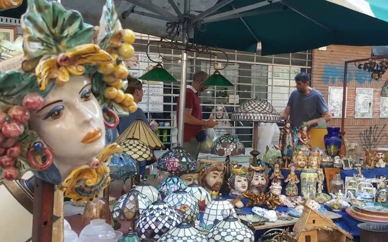 Rome Porta Portese Vintage Market