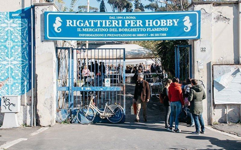 Vintage Market Rome Borghetto Flaminio