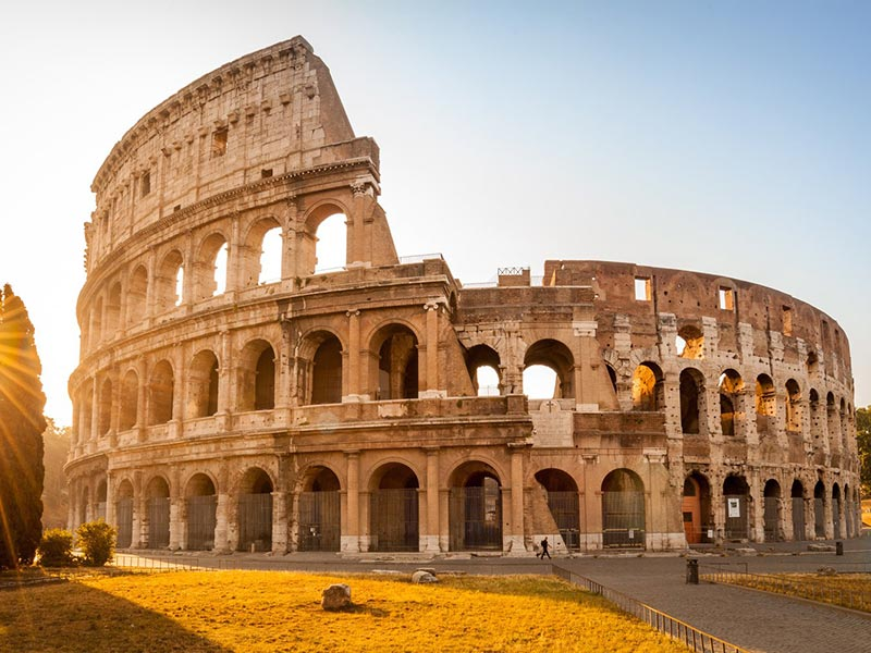 The Colosseum, aka the Flavian Amphitheatre, Rome