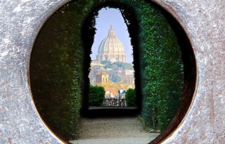 The Magic keyHole, Piazza dei Cavalieri di Malta, Rome