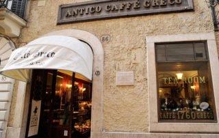 The Caffè Greco - Via dei Condotti