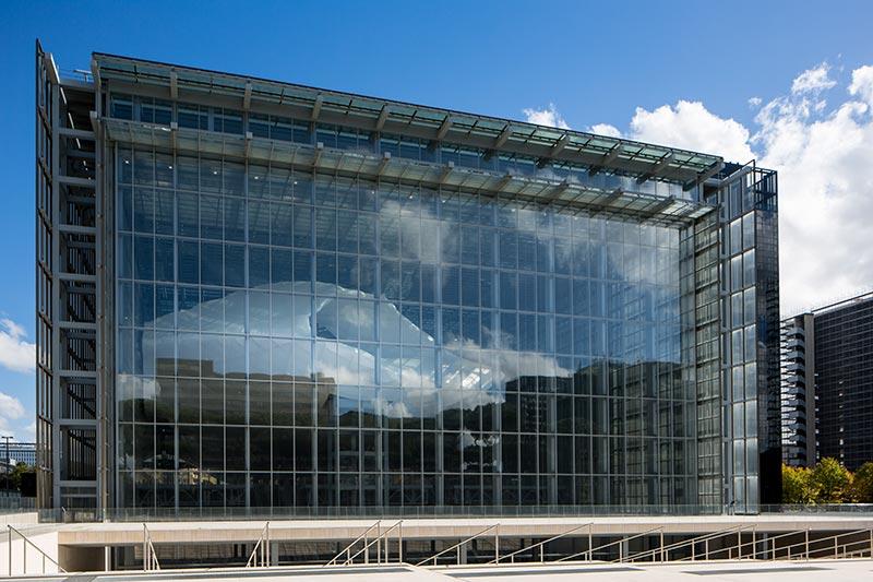 Rome's Convention Center - Fuksas Cloud