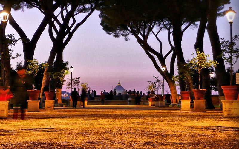 best parks in rome