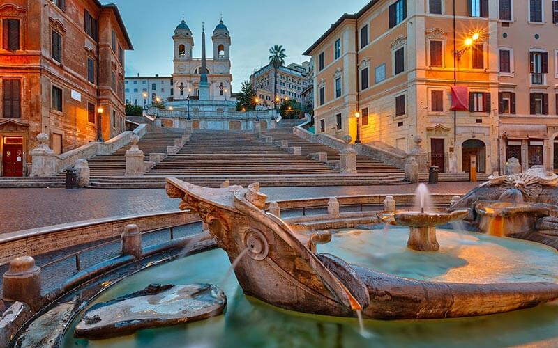 Piazza di Spagna or Spanish Steps, Rome