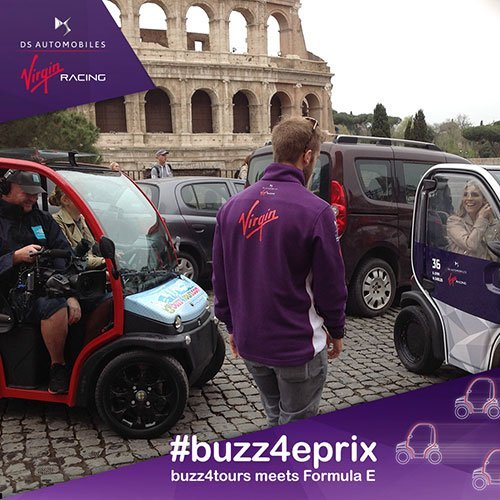 Buzz4Tours meets Formula E