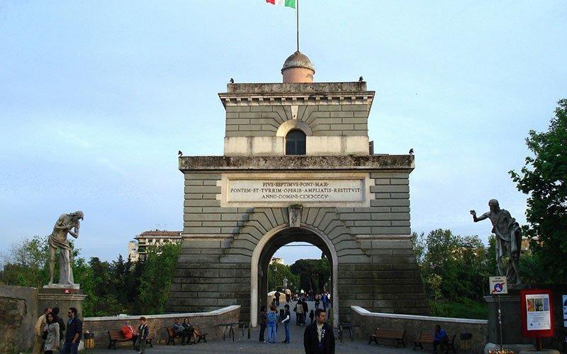Milvio Bridge Rome