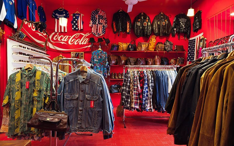 Pifebo Vintage Shop in Rome