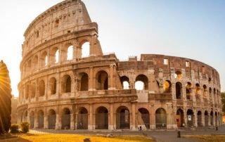 The Colosseum, aka the Flavian Amphitheatre, Rome