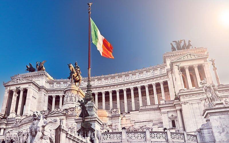 The Vittoriano in Rome